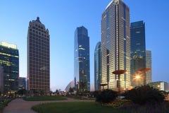 上海浦东lujiazui现代大厦 免版税图库摄影