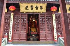 上海玉佛寺 免版税库存照片