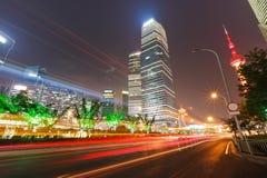 上海现代市 免版税库存图片