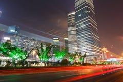 上海现代都市 免版税库存照片