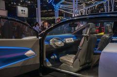 上海车展2017 VW ID内部 免版税库存照片