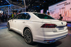 上海车展2017 VW Phideon 库存图片