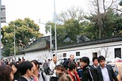 上海镇God& x27; s寺庙 图库摄影