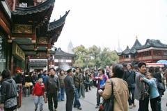上海镇God& x27; s寺庙 免版税库存照片