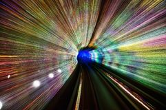 上海障壁隧道 免版税库存图片