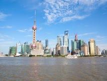 上海, pudong 免版税库存图片