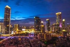上海CBD 库存照片