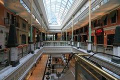 上海Shoping购物中心 库存图片