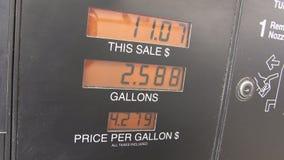 上涨的汽油价格 股票录像