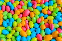 上漆的巧克力的颜色 免版税库存照片