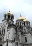 上生军事家长式大教堂-东正教,罗斯托夫和新切尔卡斯特主教管区和主要第二个大教堂  免版税库存照片