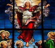上生基督 免版税库存图片