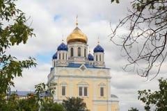 上生的大教堂教会 Yelets 俄国 免版税库存照片