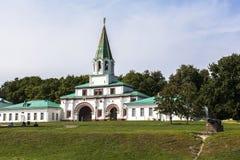 上生的教会, Kolomenskoye, Rusia 免版税库存图片