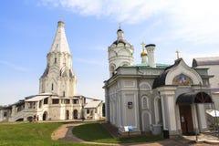上生的教会, Kolomenskoye, Rusia 免版税库存照片
