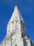 上生(第16个世纪)的教会, Kolomenskoye,莫斯科 免版税图库摄影