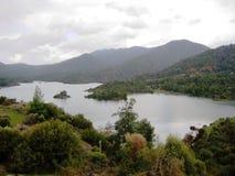 登上的湖 免版税库存照片