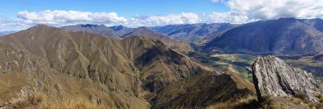 登上罗伊,新西兰 免版税库存照片