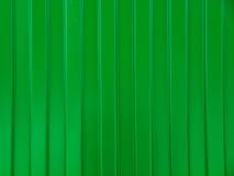 上色上漆的波浪型金属板 免版税图库摄影
