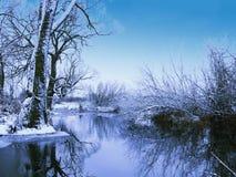 上色冬天 库存图片
