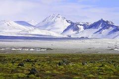 上色冰岛 库存图片
