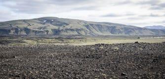 上色冰岛 免版税库存照片