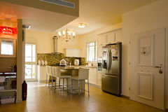 上色厨房温暖 免版税库存照片
