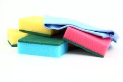 颜色海绵 库存图片