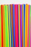 上色塑料管种类 免版税库存照片