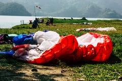 上色尼泊尔 库存图片