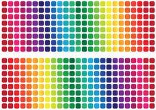 上色彩虹 免版税库存图片