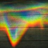 上色棱镜彩虹 免版税库存照片