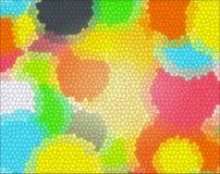 上色玻璃形状的纹理 库存照片