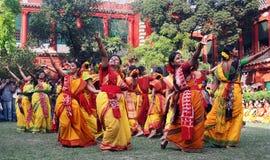 上色节日印度 库存照片