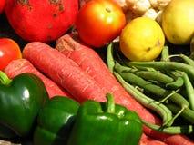 上色蔬菜 图库摄影