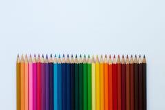 上色铅笔 库存图片