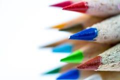 上色铅笔 图库摄影