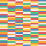 上色长方形马赛克现代 免版税库存图片