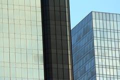 上色长方形 免版税库存照片