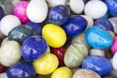上色鸡蛋 免版税库存照片