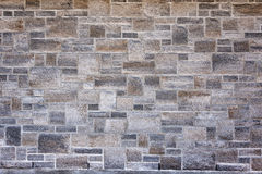 上色绿色灰色叶霉岩石一些可视墙壁 免版税库存照片