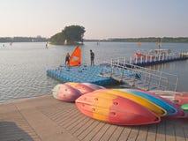 水上运动中心 库存照片