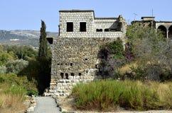上部内盖夫加利利风景,以色列 免版税库存图片