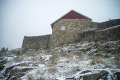 上部岩石堡垒 免版税库存图片