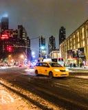 上部西侧纽约 免版税库存照片