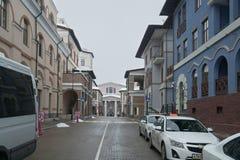 上部高尔基Gorod -全季节度假村960海拔米 免版税库存照片