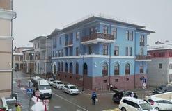 上部高尔基Gorod -全季节度假村960海拔米 库存图片