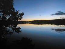 上部医学Lodge湖 图库摄影