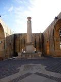 上部Barrakka庭院大阳台地区,瓦莱塔,马耳他 免版税库存图片
