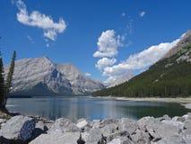 上部Kananaskis湖,加拿大 免版税库存图片